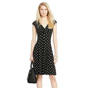 Ralph Lauren polka dot Jersey dress